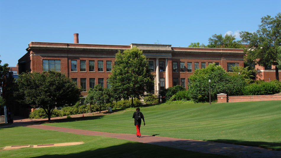 Located on NC State's North Campus, Page Hall is the home of Engineering Online.