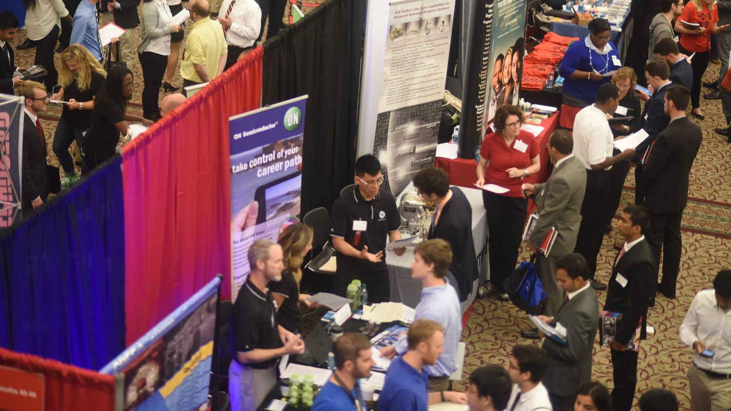 The Engineering Career Fair brings in over 6,000 students, job-seekers and alumni.