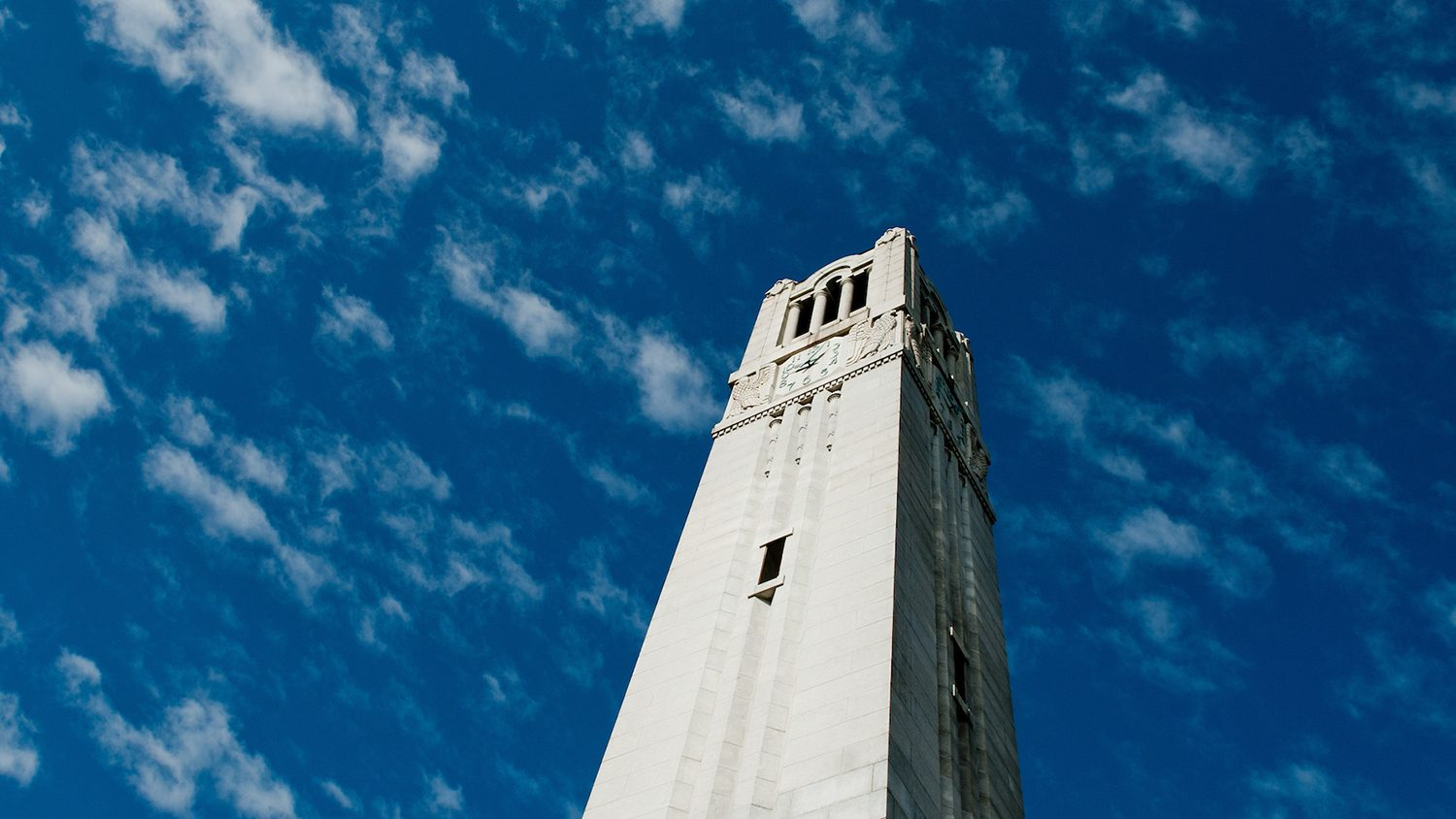 The Belltower on NC State's campus